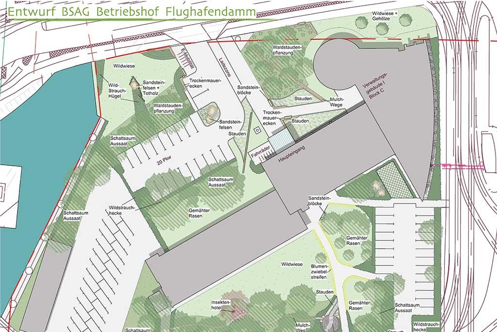 baumrausch Landschaftsarchitektur BSAG
