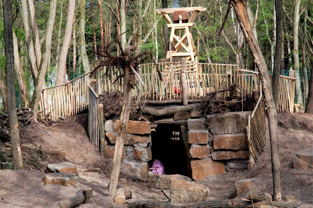 baumrausch Landschaftsarchitektur Wolfscenter